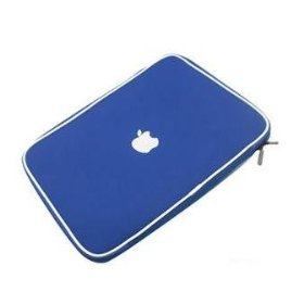 Apple Macbook AIR soft carry case sleeve (blue)