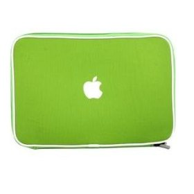 Apple Macbook AIR soft carry case sleeve (Green)