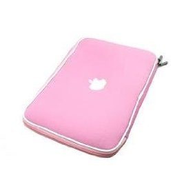 Apple Macbook AIR soft carry case sleeve (Pink)