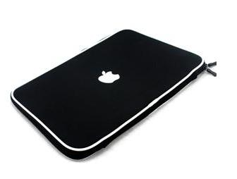 "13.3"" Apple Macbook soft carry case sleeve (black)"