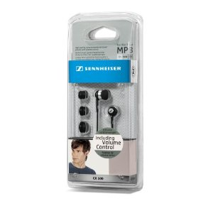 Sennheiser CX 500 Ear-Canal Headphones Black