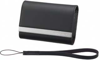 Sony LCS-THP Leather Carrying Case (Black)