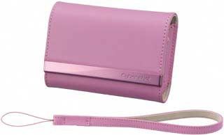 Sony LCS-THP Leather carrying case (Pink)