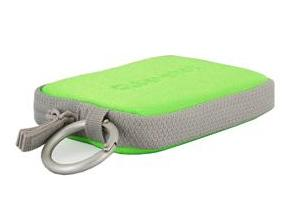 Sony LCS-TWE Soft Carry Case For S,W & T Cybershot (Green)