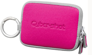 Sony LCS-TWE Soft Carry Case For S,W & T Cybershot (Pink)