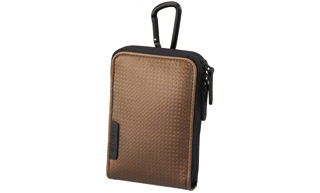 Sony LCS-CSVC/T Soft Carry Case For S,W & T Cybershot (Brown)
