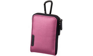 Sony LCS-CSVC/P Soft Carry Case For S,W & T Cybershot (Pink)